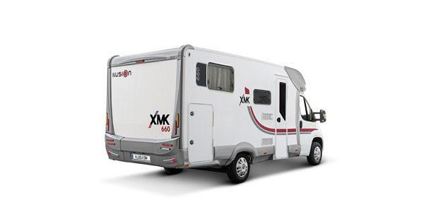 Venta y alquiler de autocaravanas ILUSION XMK 660 en Zaragoza y Huesca