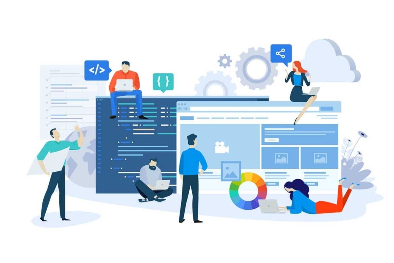 in-house mobile app development team