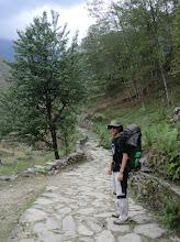 Photo: Lyngve on the trail