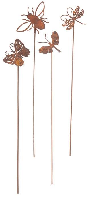 Små flygande insekter 4-set ELDgarden