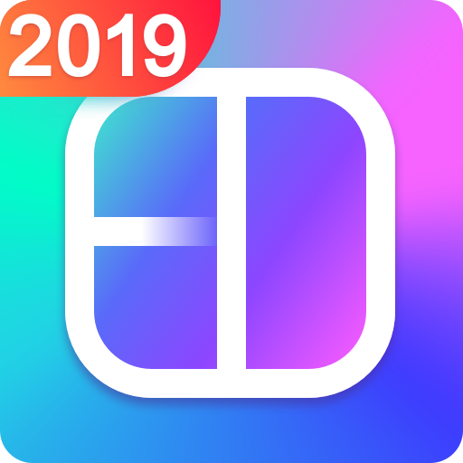 Collage Maker - photo collage & photo editor Icon