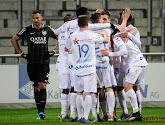 Gent won met 2-3 op het veld van Eupen