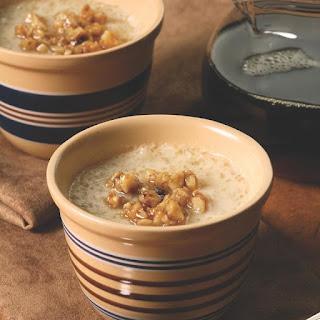 Maple-Walnut Tapioca Pudding Recipe