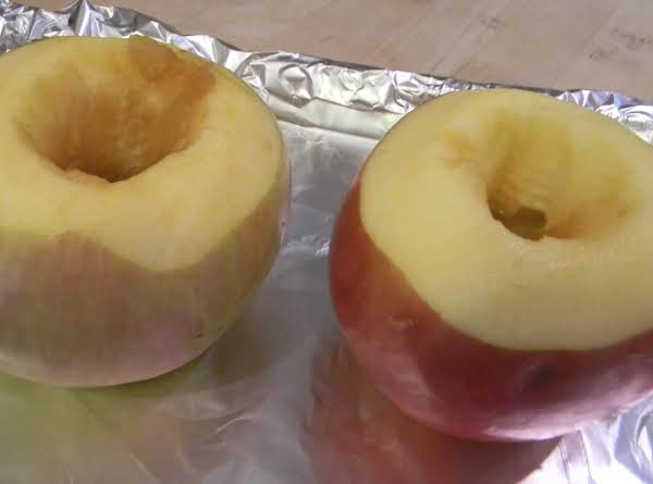 Cherry Cola Braised Apples