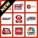 Hindi News Live TV 24x7 & Newspapers हिंदी समाचार icon