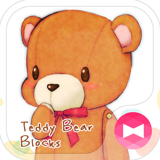Teddy Bear Blocks Wallpaper Icon