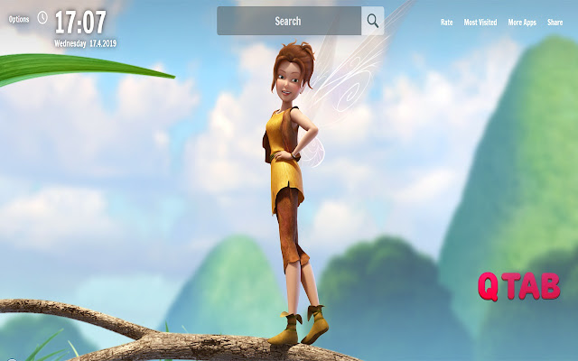 Fairy New Tab Fairy Wallpapers