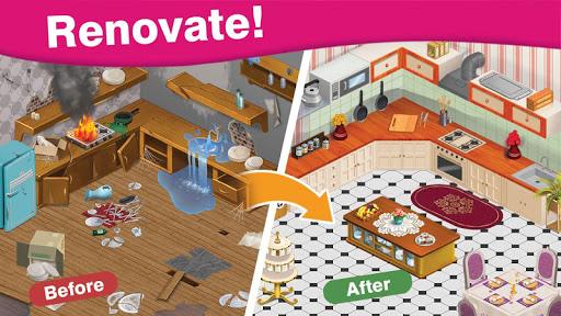 Home Cafe : Mansion Design - Match Blast 3.7 screenshots 1
