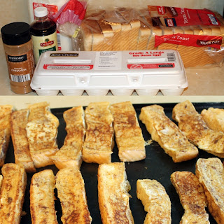 Freezer Ready French Toast Sticks
