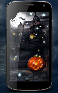 Haunted House Live Wallpaper - náhled