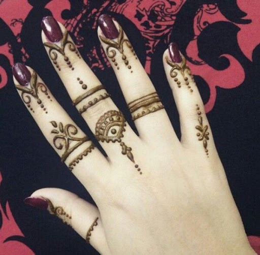 Finger Mehndi designs 1.1 screenshots 1