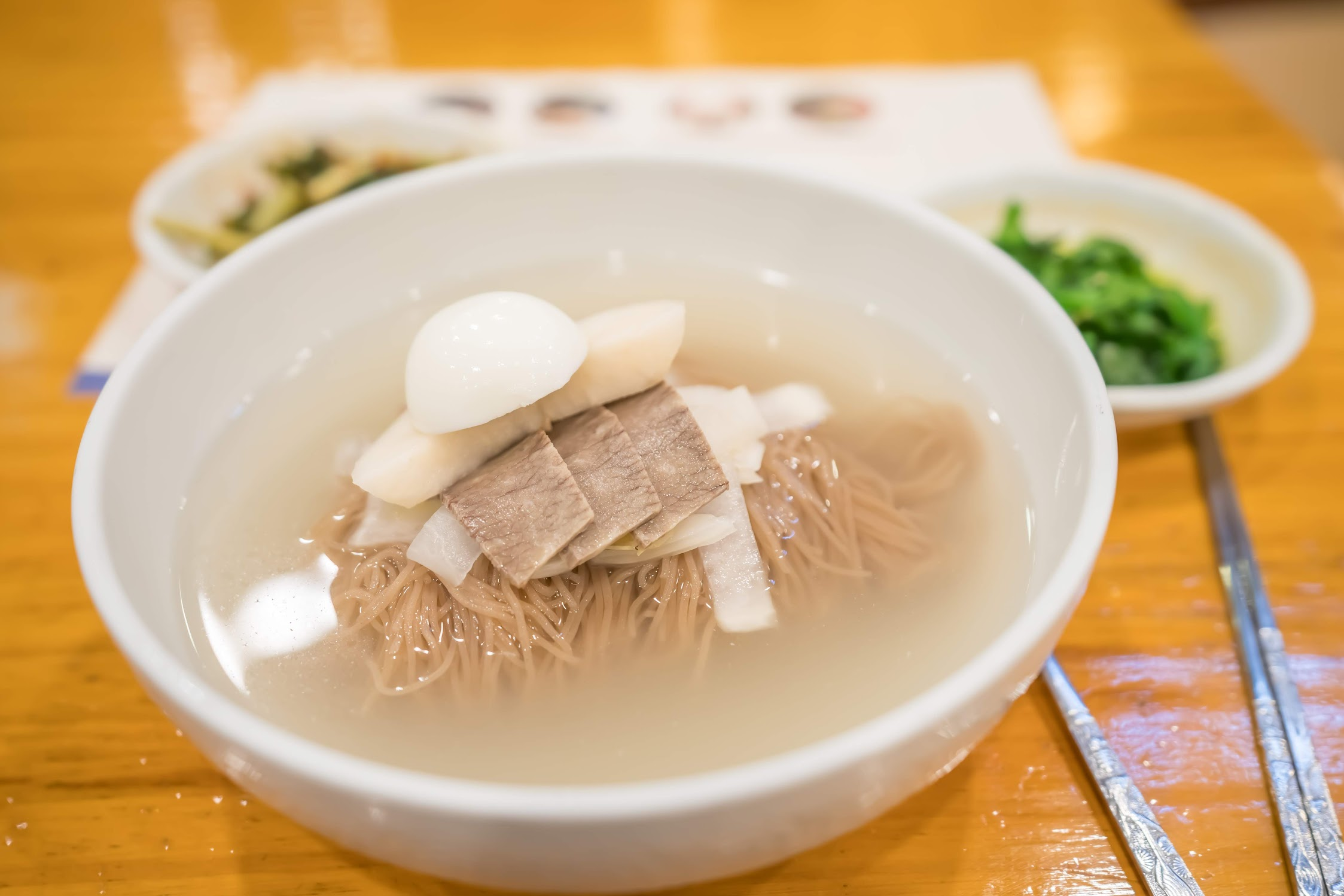 Korean cold noodle