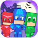 Pixel Mask Superhero Craft Run