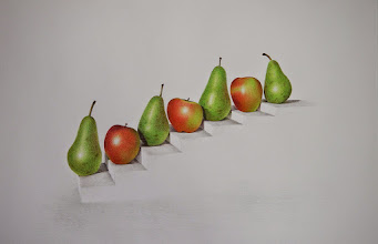 Photo: Suzy Herbert : Apples and Pears : 26 x  36cm