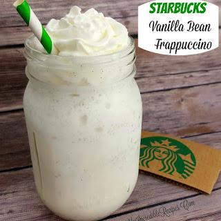 Starbucks Vanilla Bean Frappuccino- Copycat