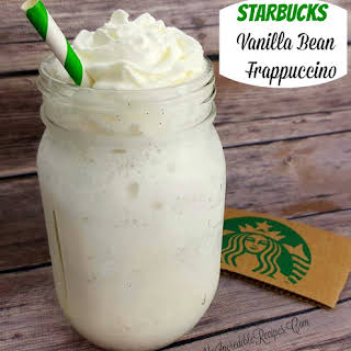 Starbucks Vanilla Bean Frappuccino- Copycat.