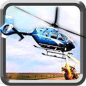 Helicopter Shooter Moto Chase