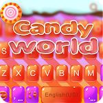 Candy World  iKeyboard theme