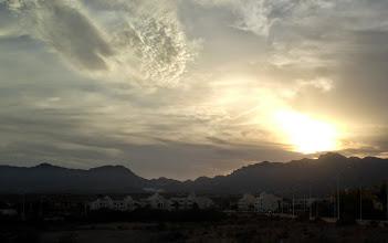 Photo: Sunset over San Juan