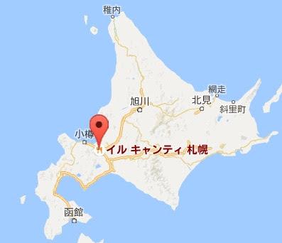 地図:イル キャンティ札幌