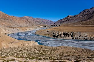 Photo: Tsarap River, outside Sarchu, Manali-Leh Highway, Ladakh, Indian Himalayas