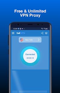 Sail VPN - Fast, Secure, Free Unlimited Proxy
