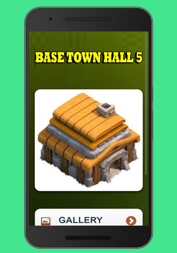 New coc base town hall 5 1.0 screenshots 2