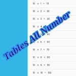 Tables Maths icon