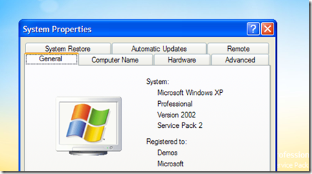 microsoft windows xp professional version 2002 service pack 2 update