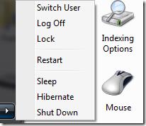 Shutdown, Restart, Lock, Sleep Or Hibernate your Computer