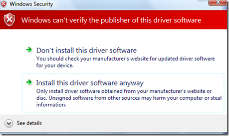 Windows Cannot verify