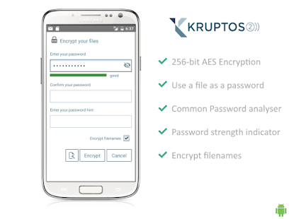 Encryption by Kruptos 2- screenshot thumbnail