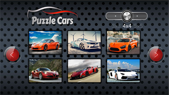 Sport cars puzzle - náhled