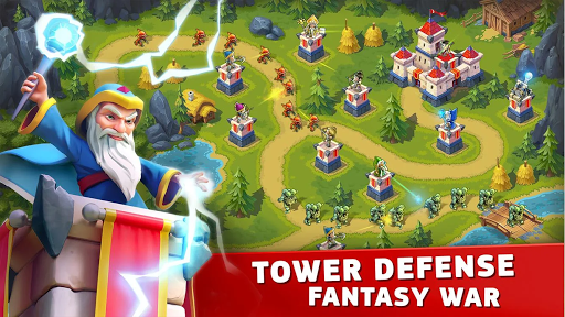 Toy Defense Fantasy u2014 Tower Defense Game apkpoly screenshots 1