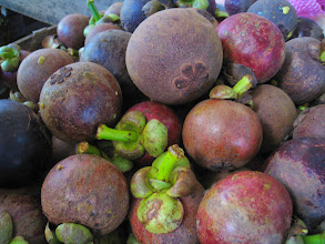 Photo: Mangosteens - our favourite!