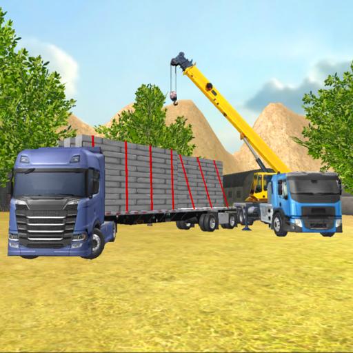 Construction Truck 3D: Prefab Transport