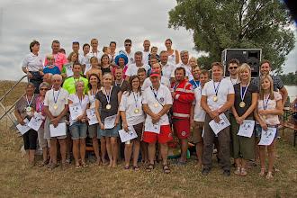 Photo: Die Teilnehmer am 3. Volkstriathlon Straubing-Bogen (Es fehlen die Teilnehmer der Wasserwacht Waltendorf)