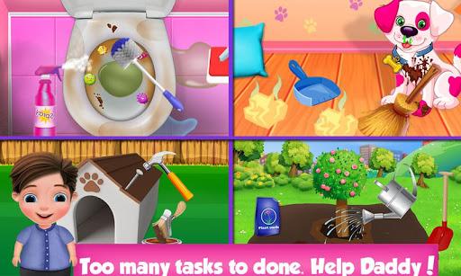 Code Triche Help Daddy Messy Home  - Kids Fun Adventure  APK MOD (Astuce) screenshots 6