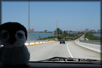 Photo: Driving across the bridge into Clearwater Beach.