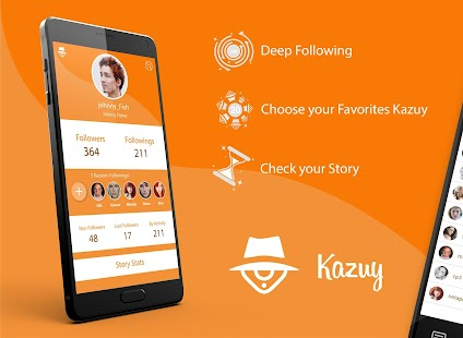 Kazuy - Instagram Tracker - náhled