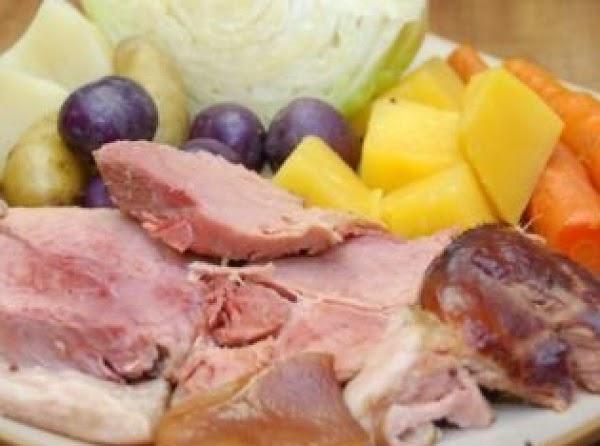 Boiled Dinner Recipe