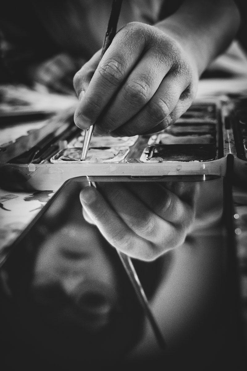 La mano dell'artista... di Alessio_fiè