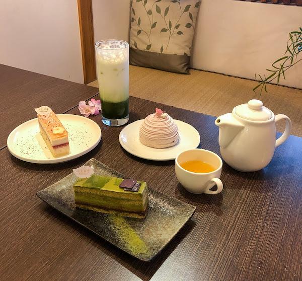 七見櫻堂.巷弄內的濃濃日本風情.抹茶控下午茶小天地
