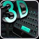 3D Black Neon Keyboard APK