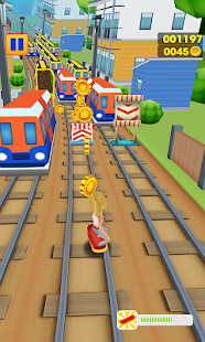 Super Subway Surf Train Rush City