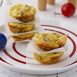 Cauliflower and Cheese Frittatas