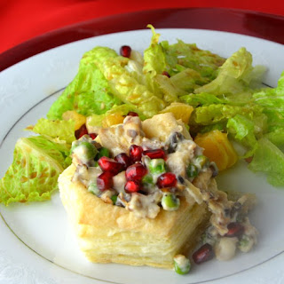 Turkey Vol Au Vent Shells Recipe