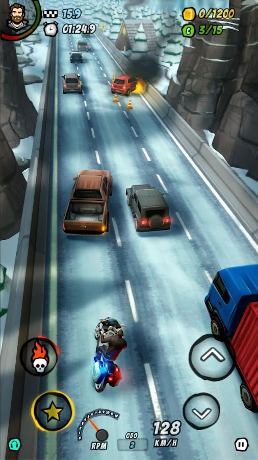 Moto Racing 2: Burning Asphalt- screenshot