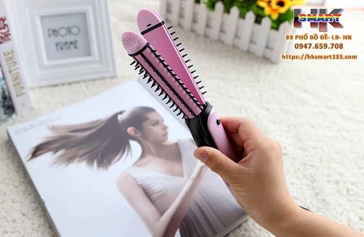 Lược điện uốn tóc đa năng