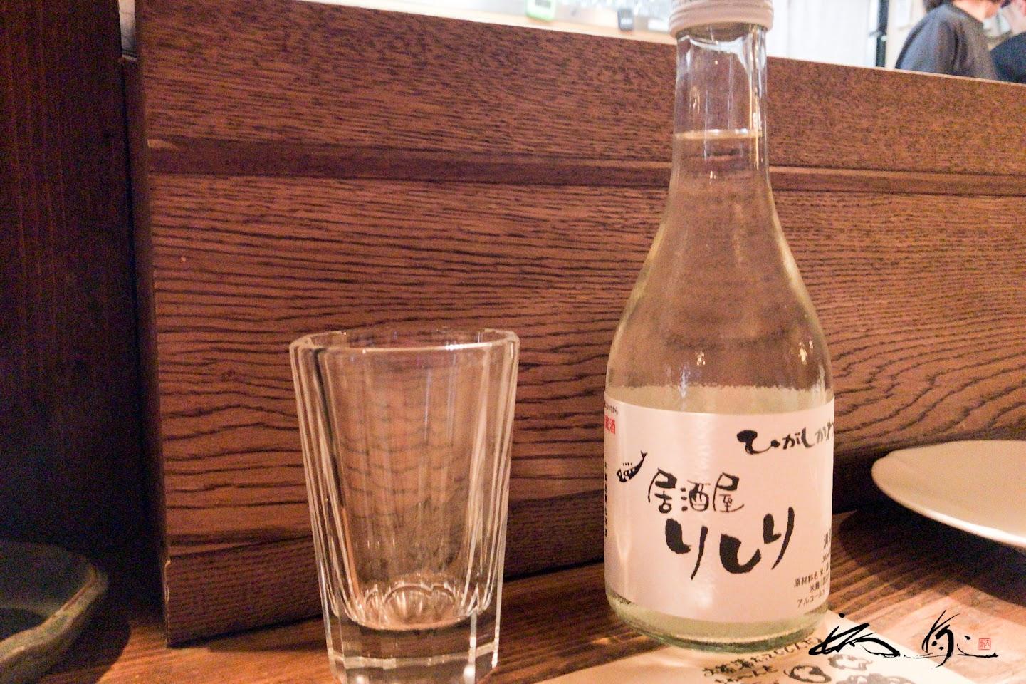 日本酒:男山 生貯蔵冷酒「居酒屋りしり」